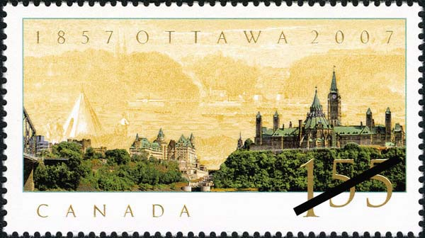 Ottawa, 1857-2007 [philatelic record]. (item 1)