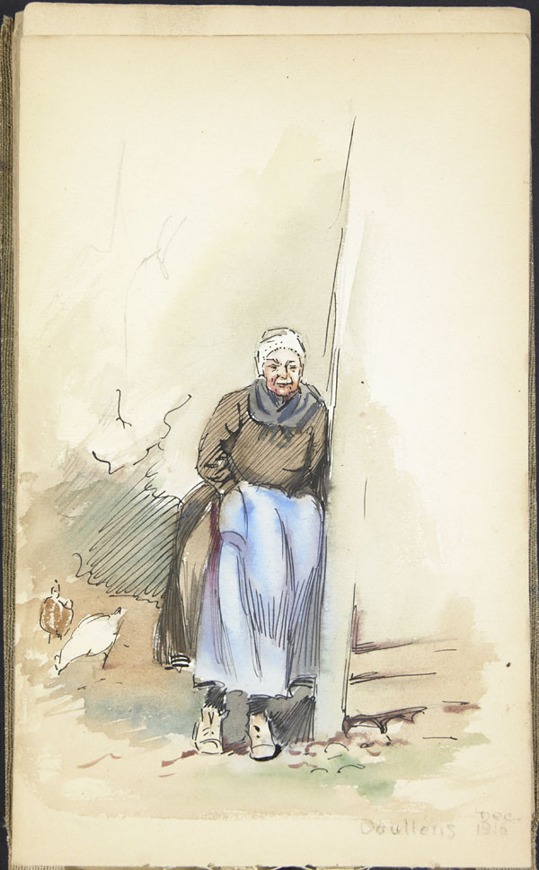 Peasant woman, Doullens
