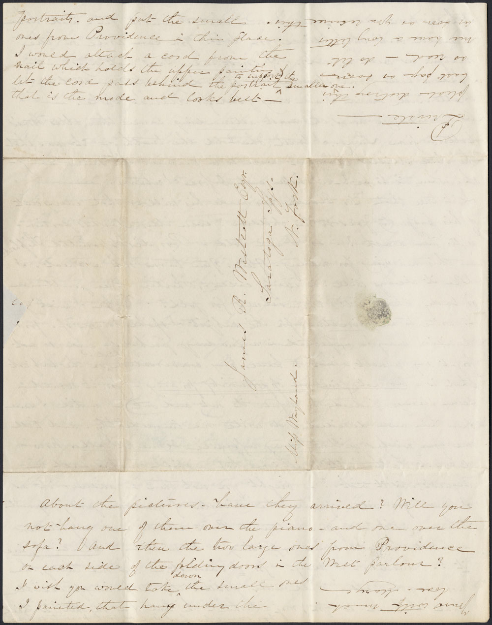 [Correspondence of Mary Westcott] 1845. (item 4)