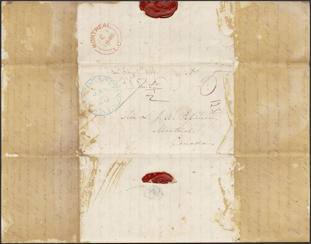 [Correspondence of Mary Westcott] 1846. (item 4)
