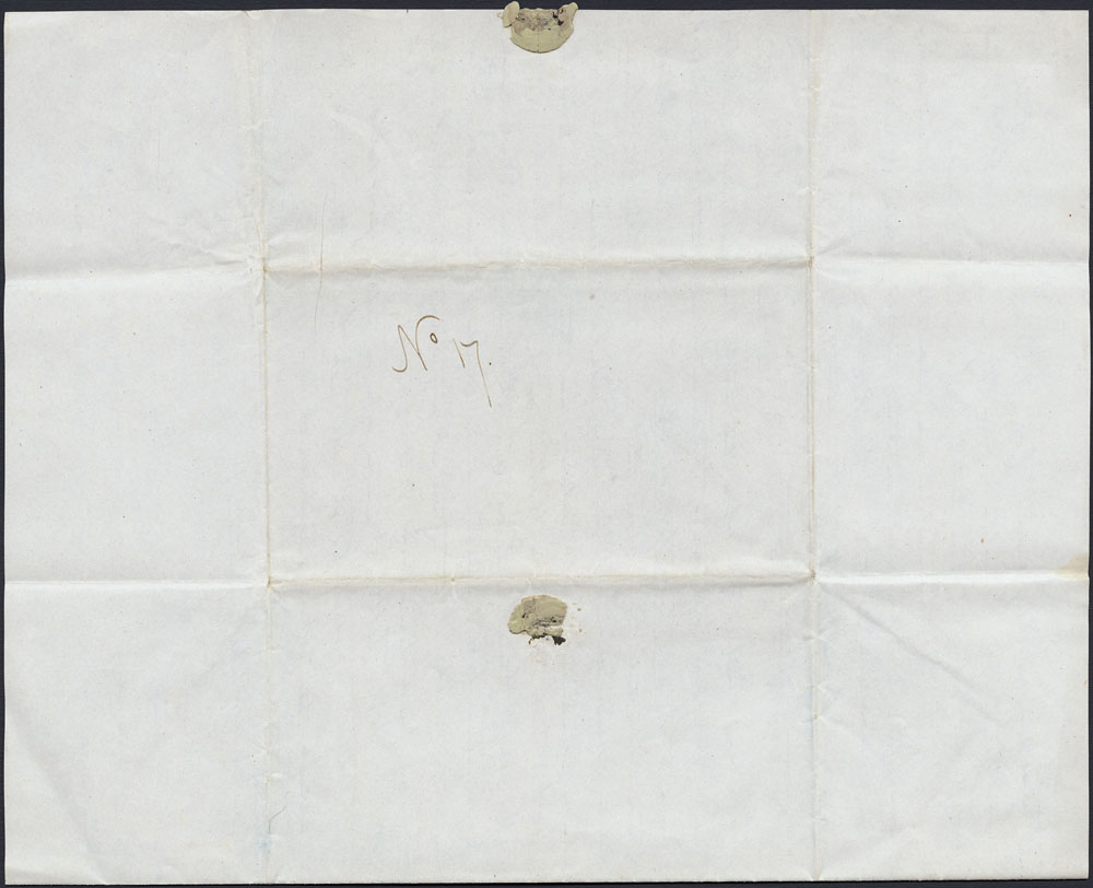[Correspondance de Mary Westcott] 1843 . (item 10)
