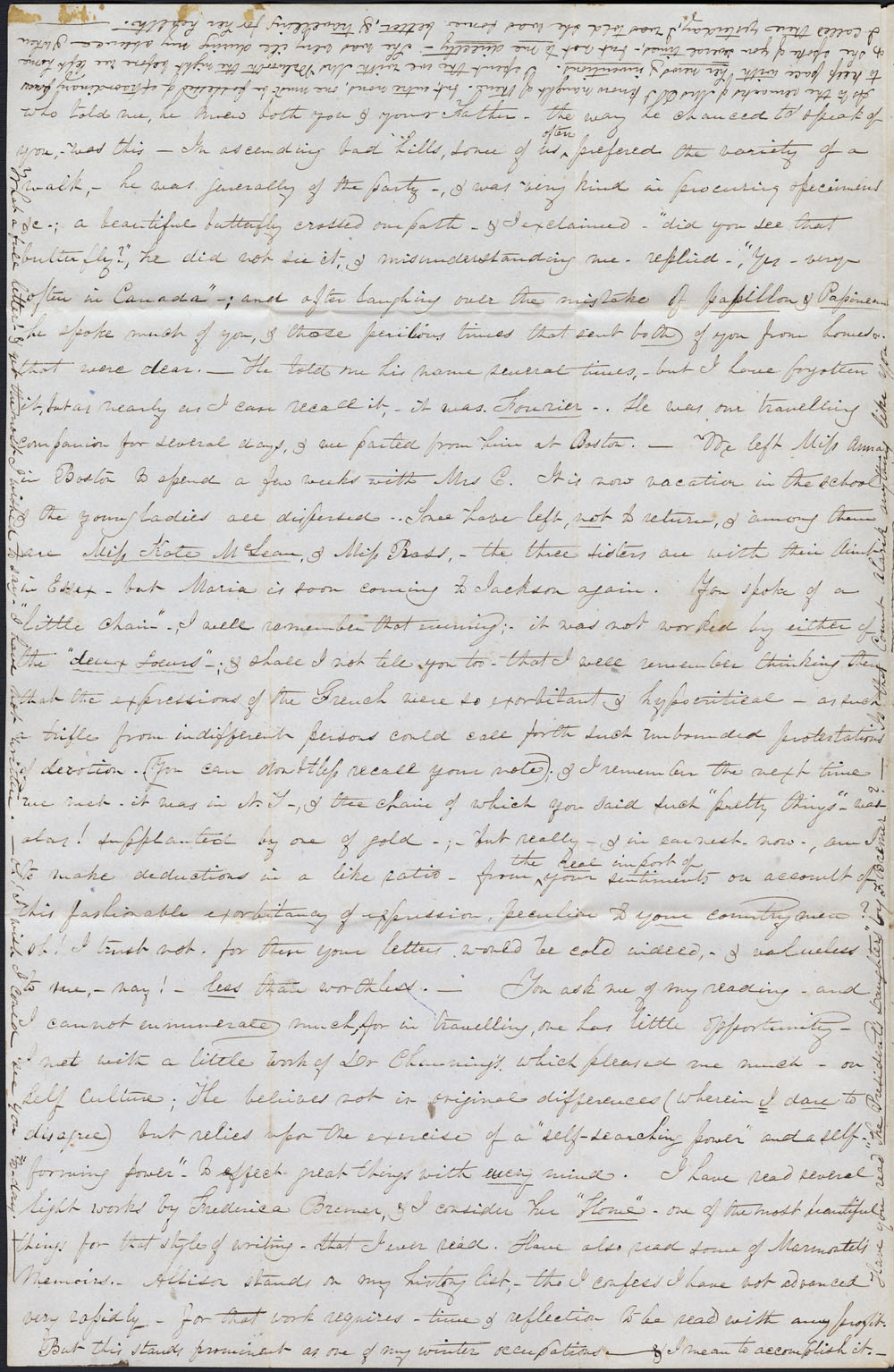 [Correspondance de Mary Westcott] 1843 . (item 13)