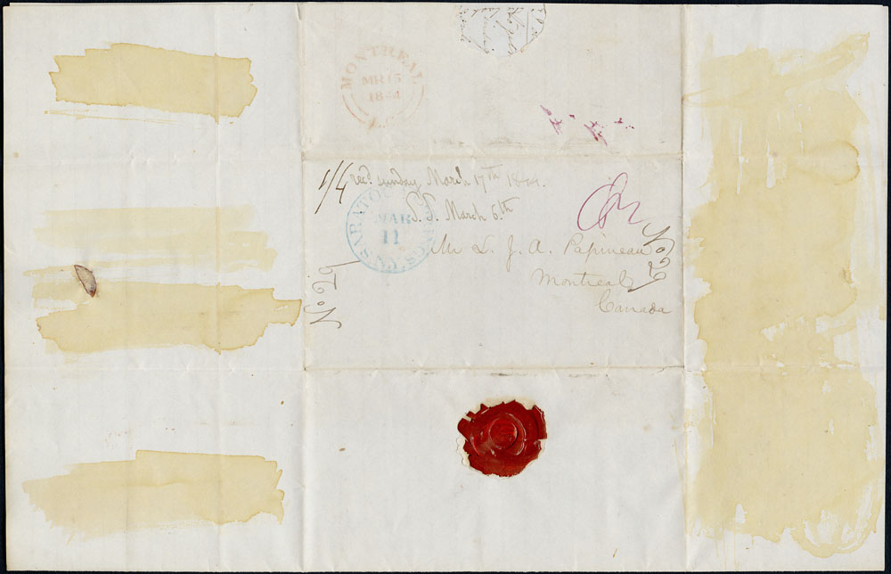 [Correspondence of Mary Westcott] 1844. (item 4)
