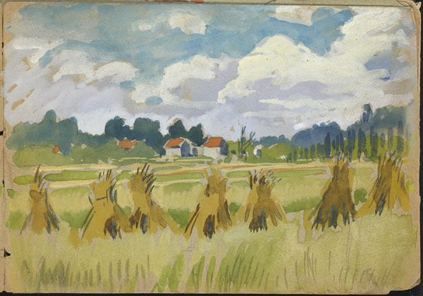 Haystacks, French Flanders (e008315339)