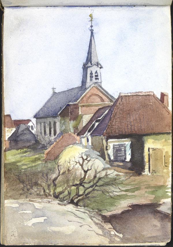 Saint-Sulpice church, Chuignes
