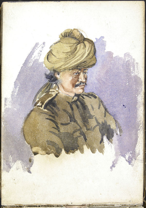 Soldier from the Indian Army, Somme
