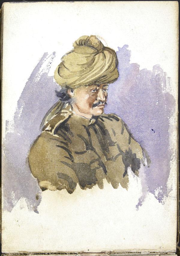 Soldat de l'Armée indienne, Somme