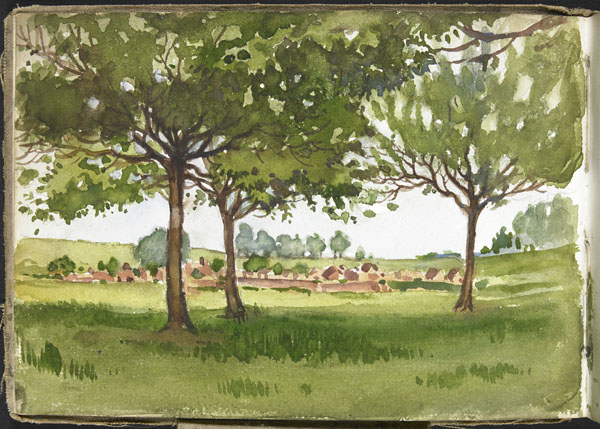 Paysage, Somme
