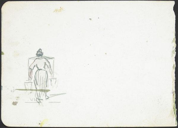 Femme transportant deux sceaux, France