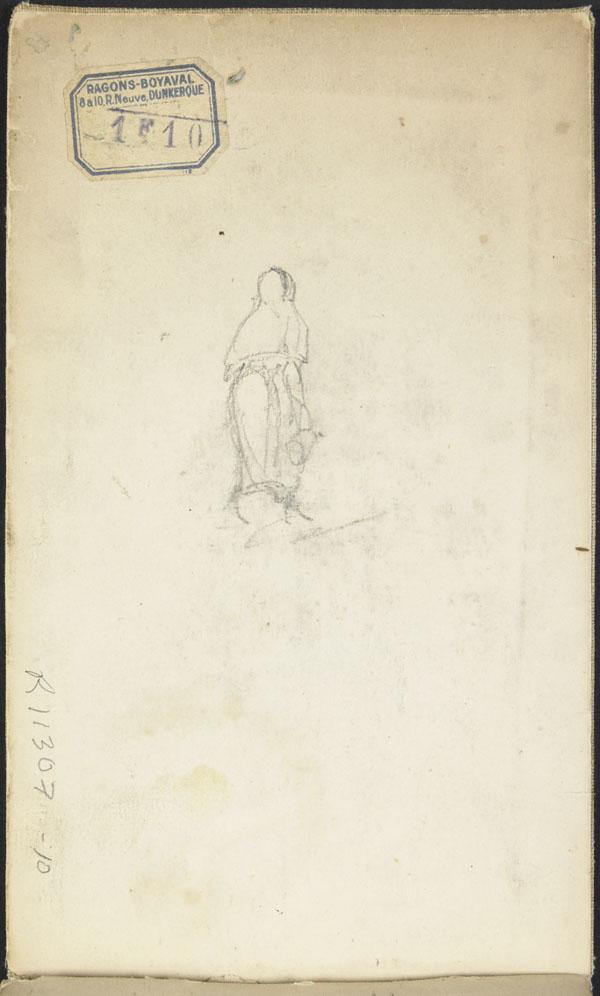 Female figure, Belgium