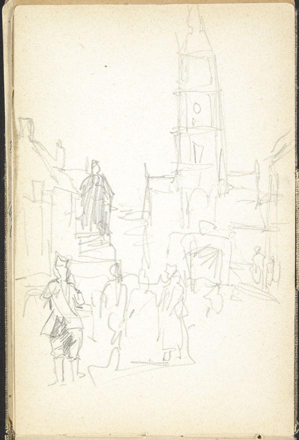 City Hall and the Grande Place, Le Cateau (e008315573)