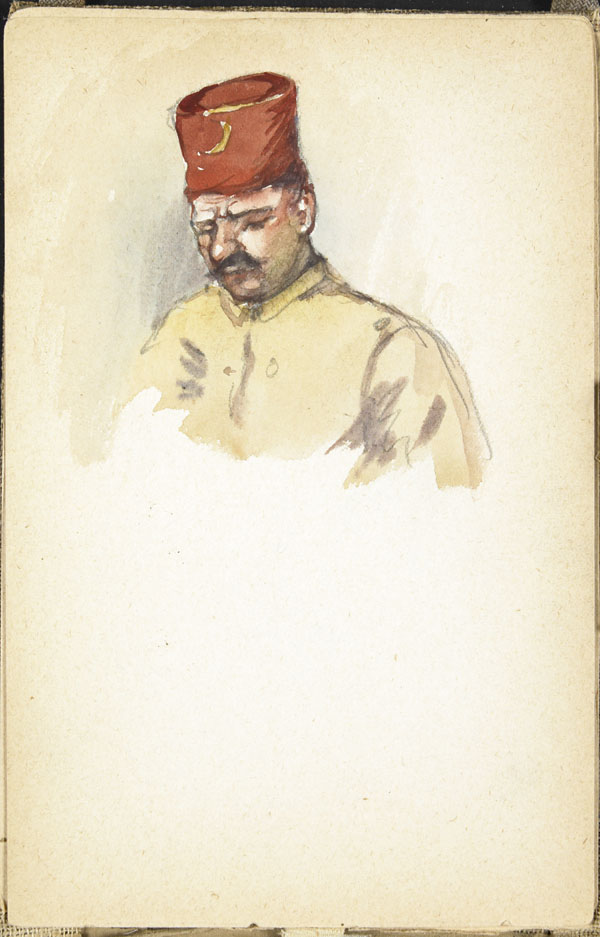 Moroccan soldier