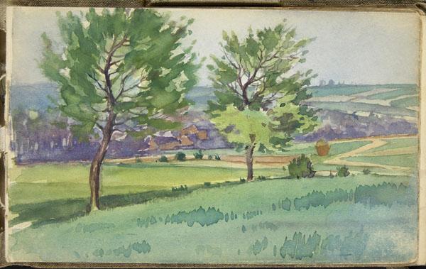 Paysage vallonné, Pas-de-Calais