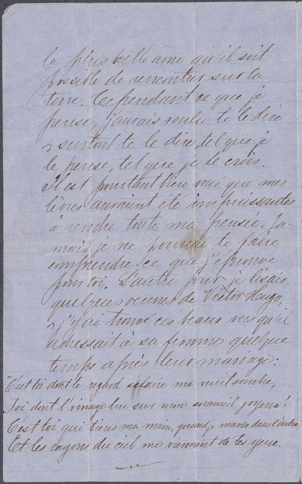 [Correspondence] Wilfrid Laurier  Zo p.d. et 1863-1890. (item 6)