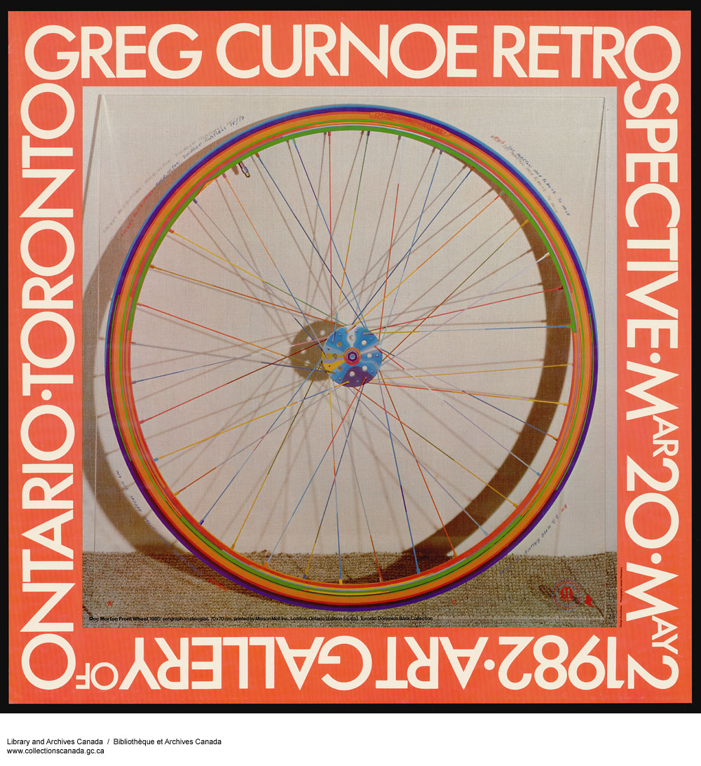 Greg Curnoe Retrospective. (item 1)