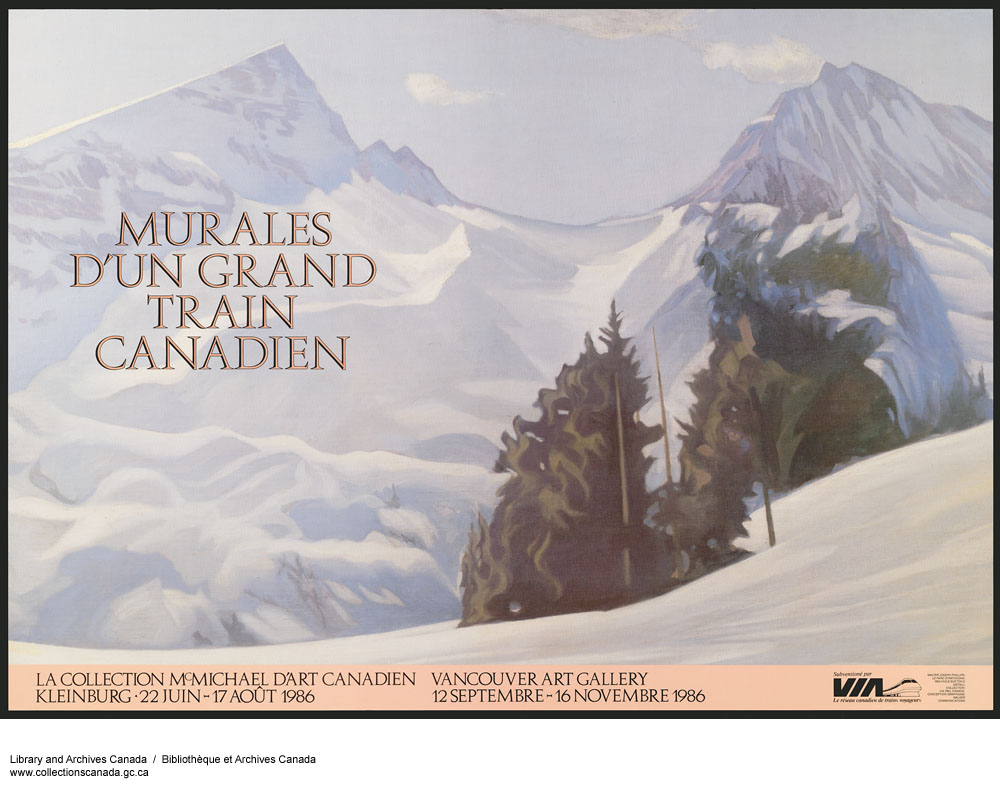 Murales D'un Grand Train Canadien. (item 1)