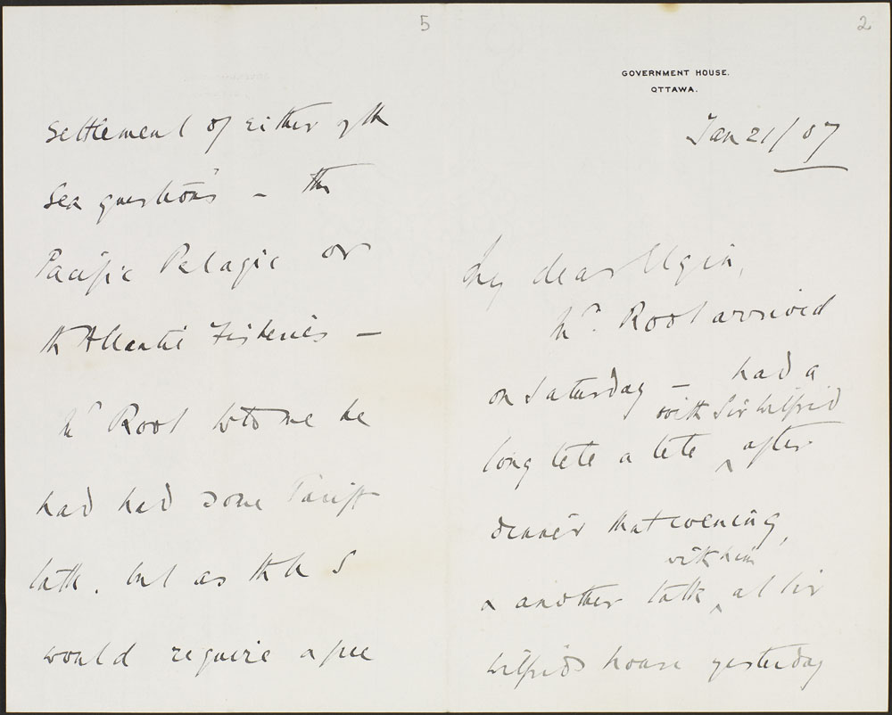 Letter from Lord Grey to Lord Elgin. (item 2)