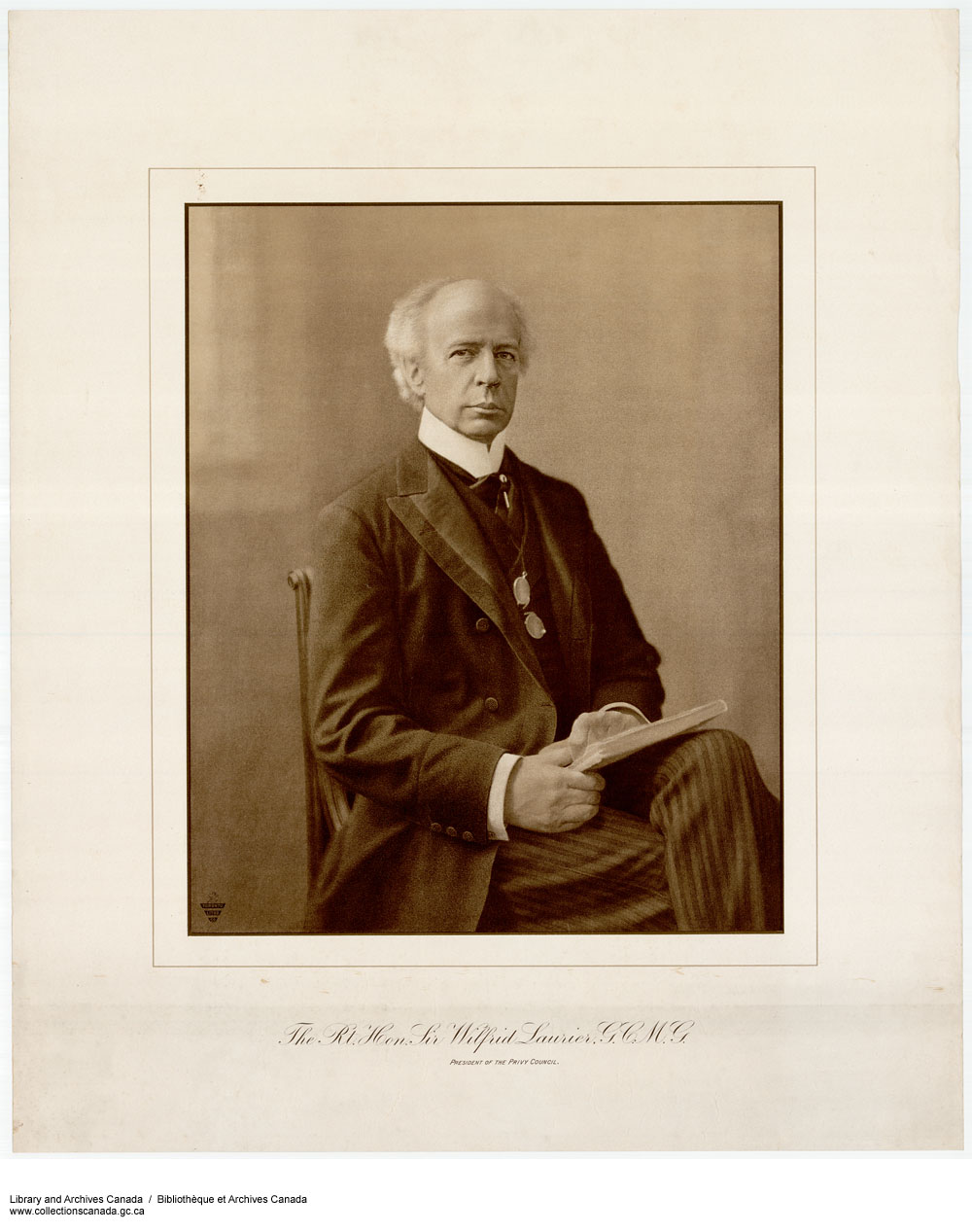 The Right Hon. Sir Wilfrid Laurier, G.C.M.G. (item 1)