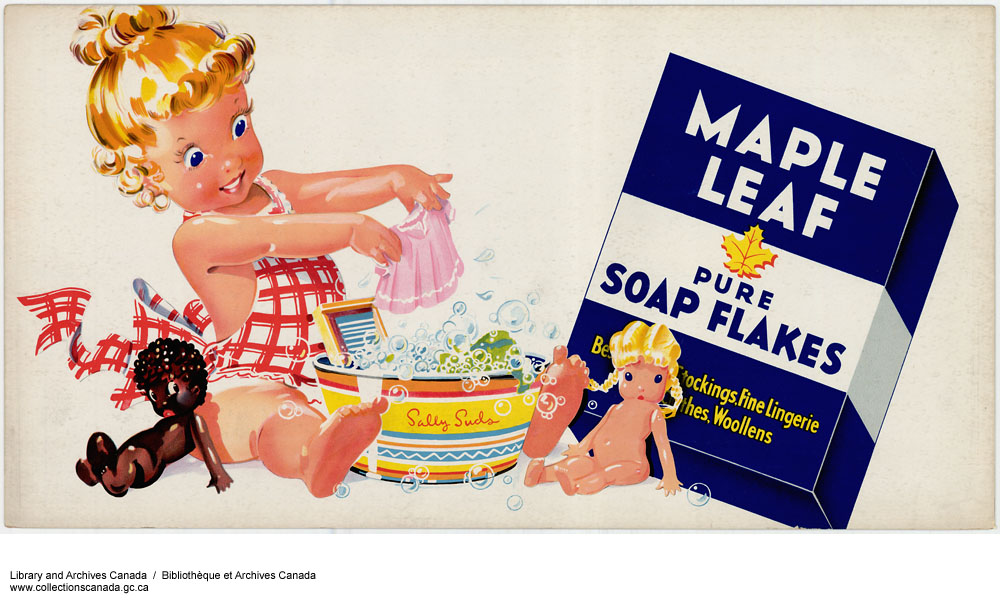 Maple Leaf Pure Soap Flakes. (item 1)