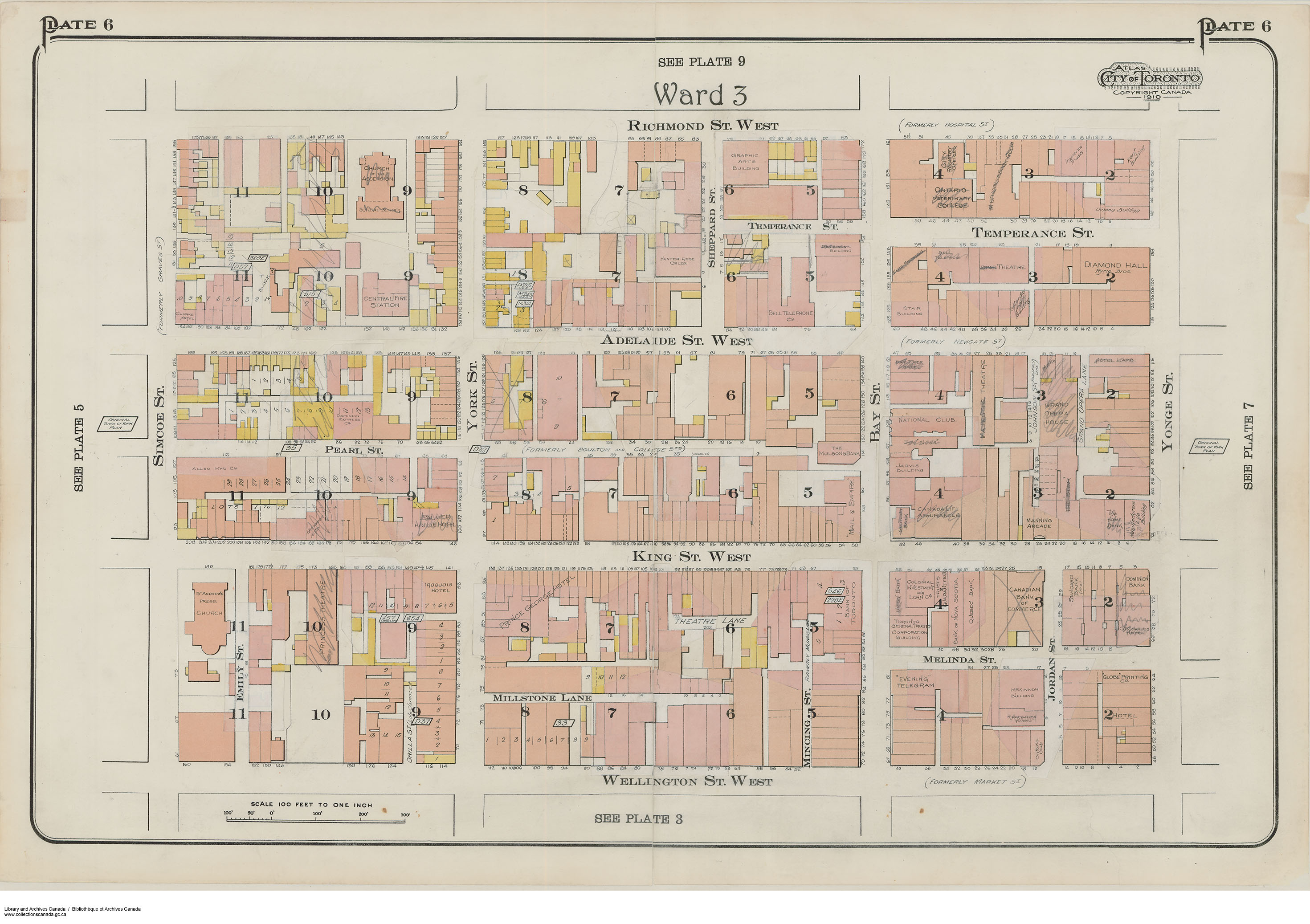 Historic Maps Towns Amp Cities Of Canada Skyscraperpage Forum