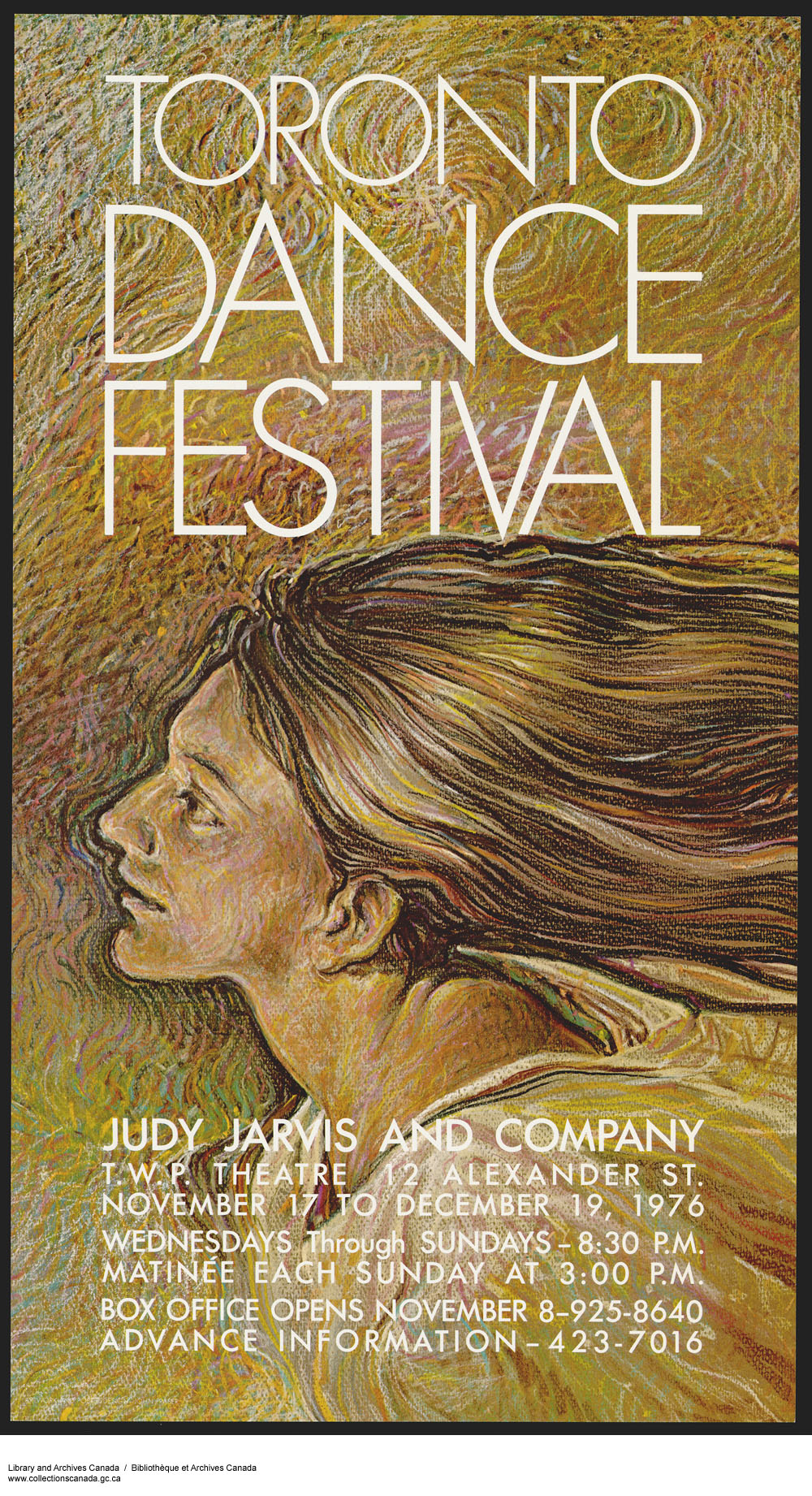 Toronto Dance Festival / Judy Jarvis and Company. (item 1)