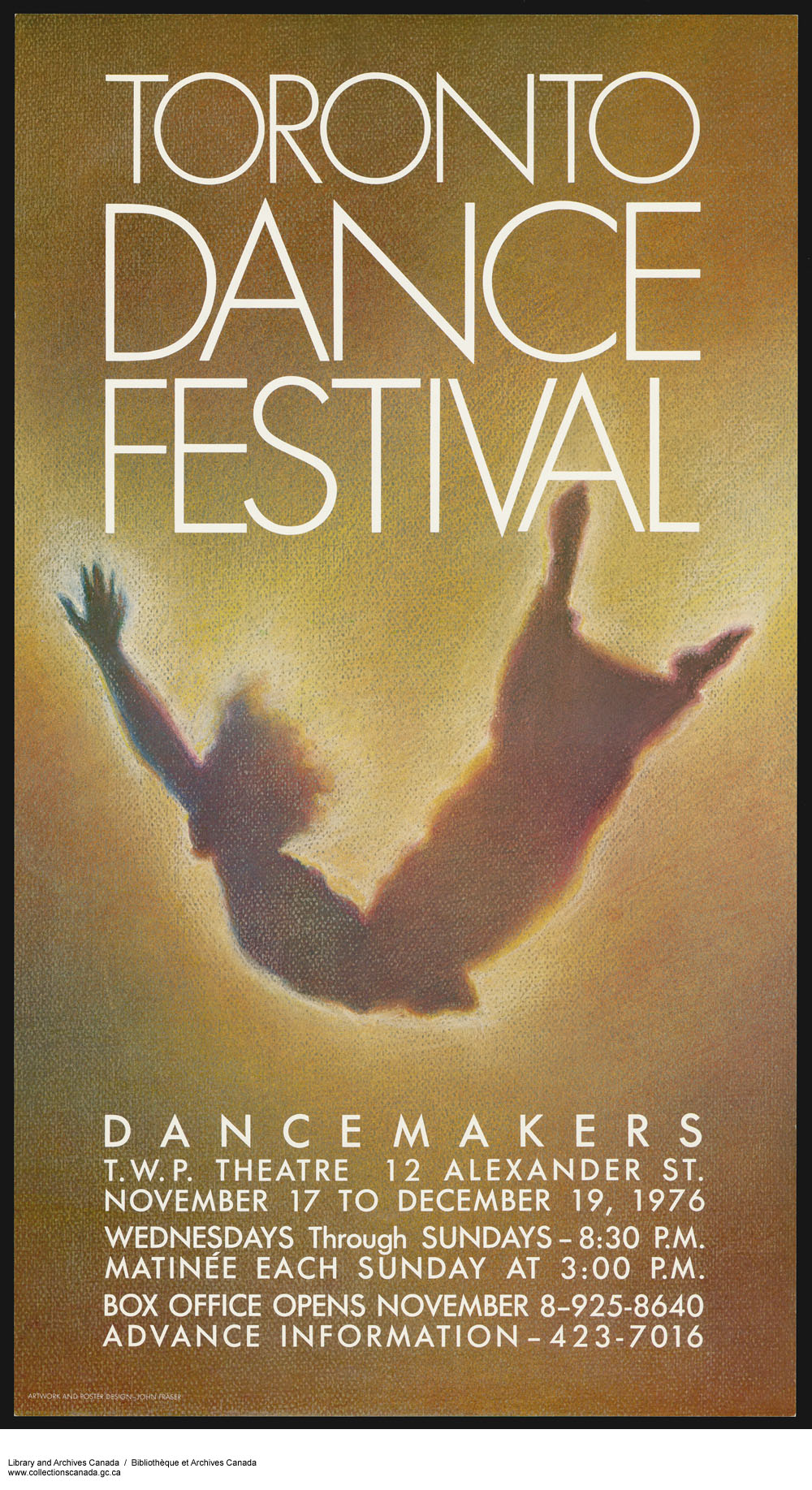 Toronto Dance Festival / Dance Makers. (item 1)