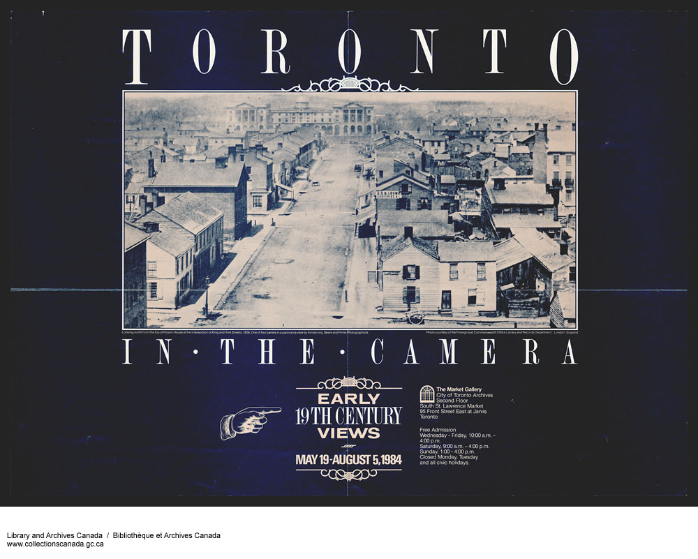 Toronto in the camera. (item 1)