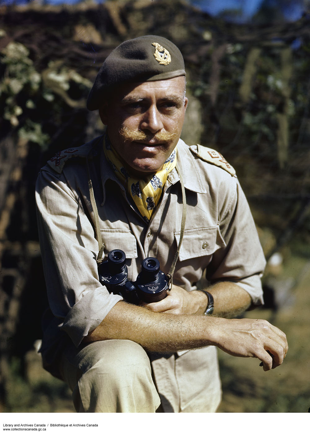 Major-General Chris Vokes ca. 1943-1965 (Source: Library and Archives Canada)