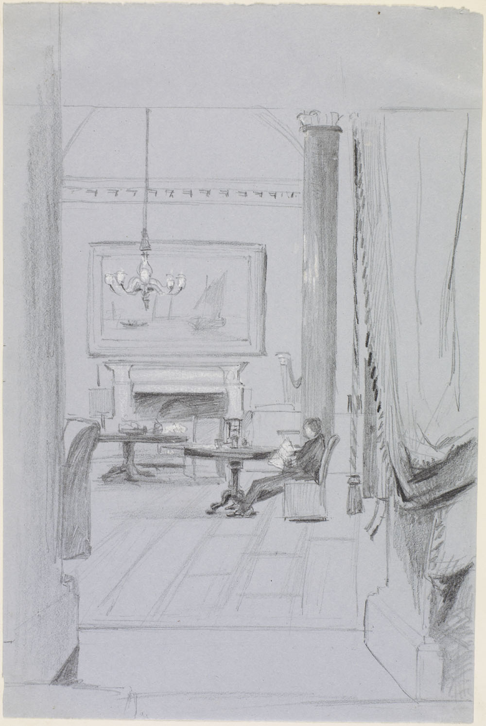 [Interior View - Lambton Castle] (item 1)