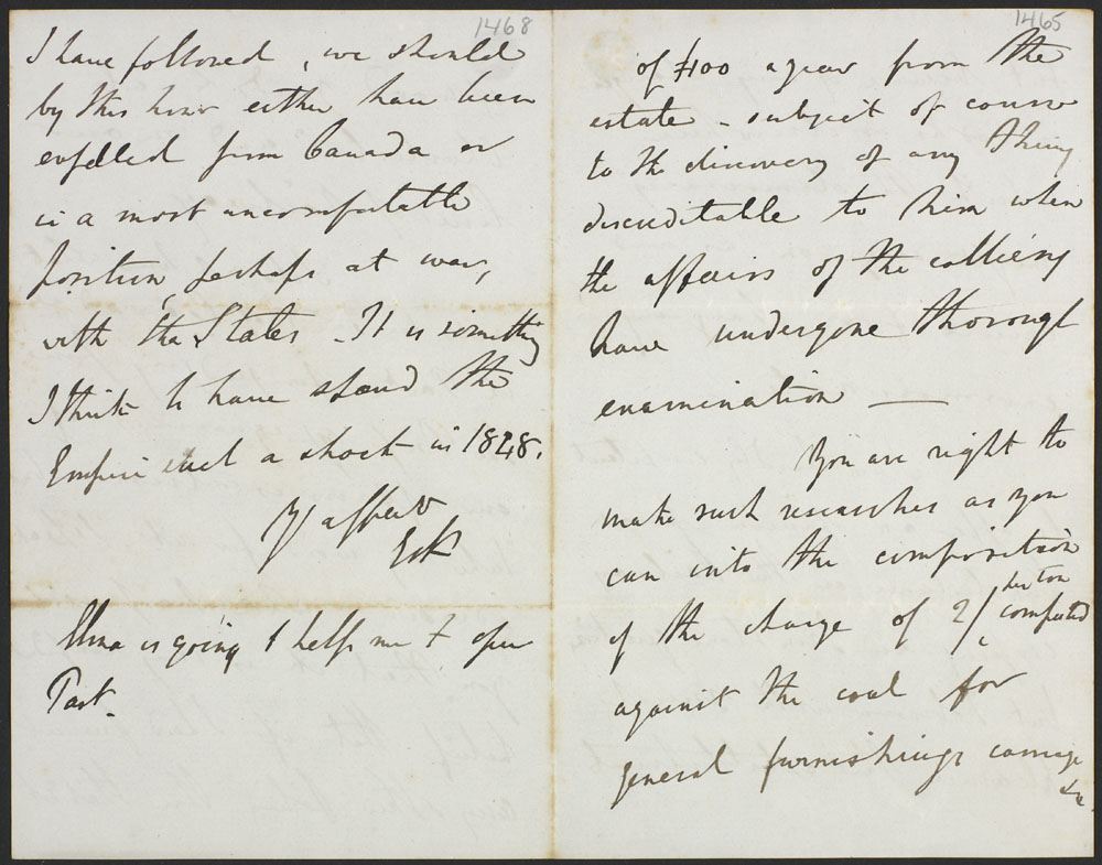 Letter from Lord Elgin to Mr. Cumming-Bruce. (item 3)