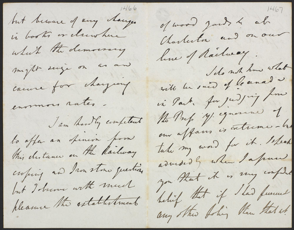 Letter from Lord Elgin to Mr. Cumming-Bruce. (item 4)