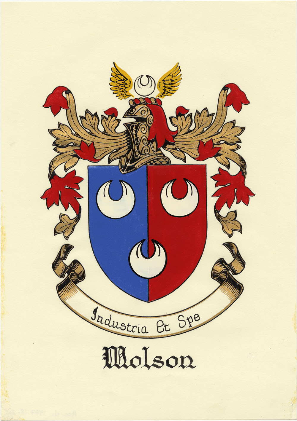 Molson coat of arms