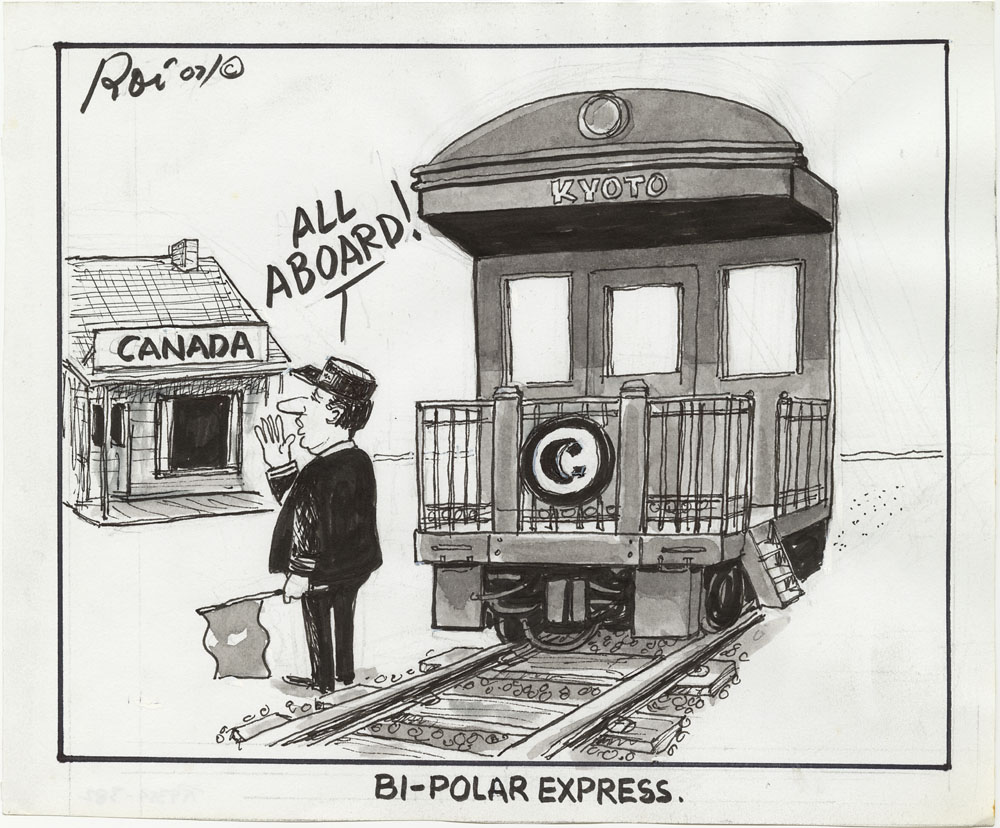 Bi-Polar Express. (item 1)