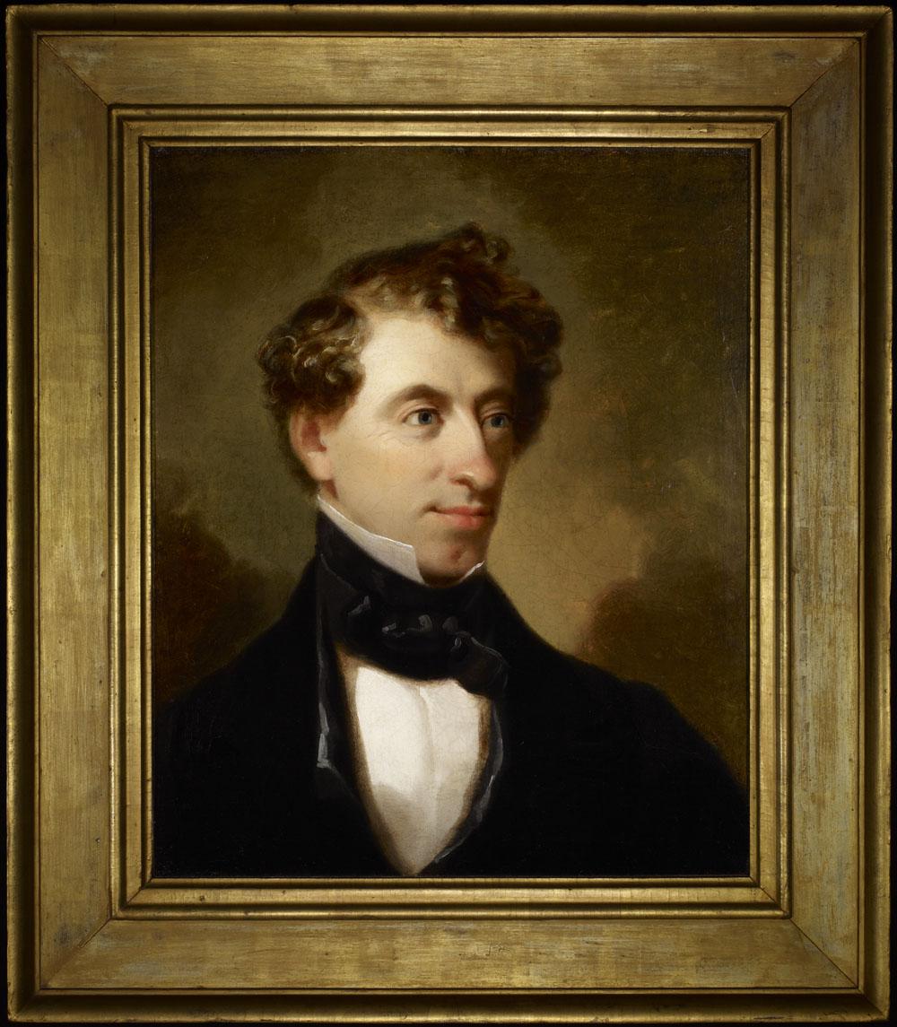 Portrait de John A. Macdonald dans sa jeunesse.