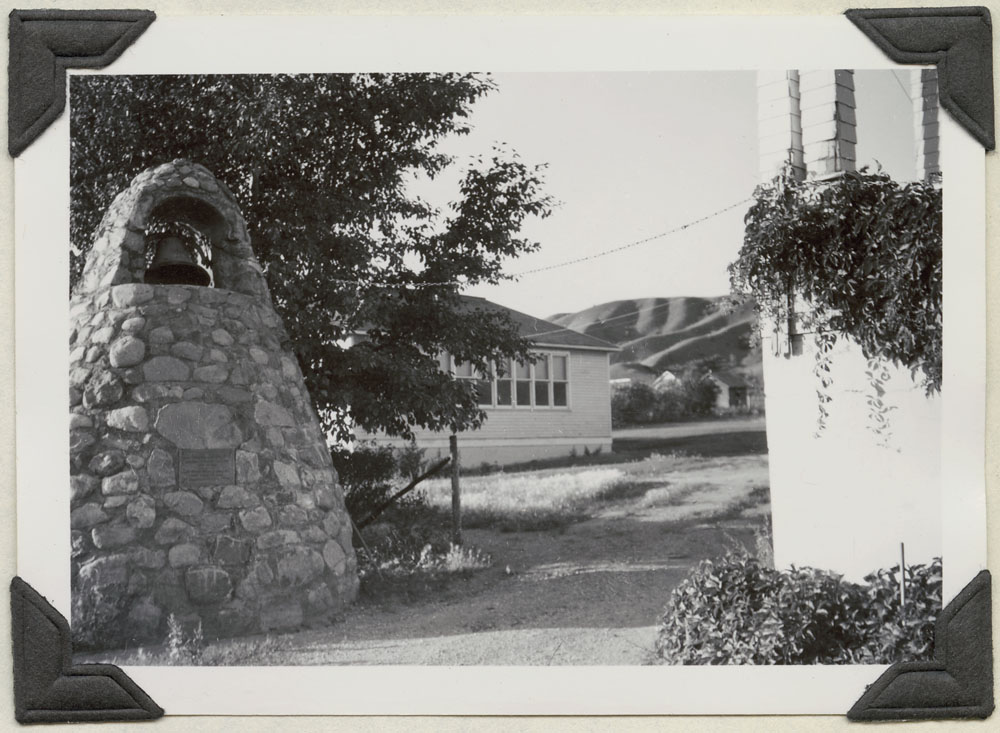 Round Lake Indian Residential School, exterior view of classroom, Broadview, September 2, 1948