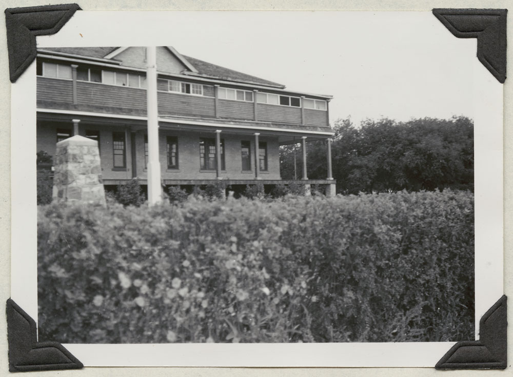 File Hills Indian Residential School, front view, Balcarres, August 19, 1948