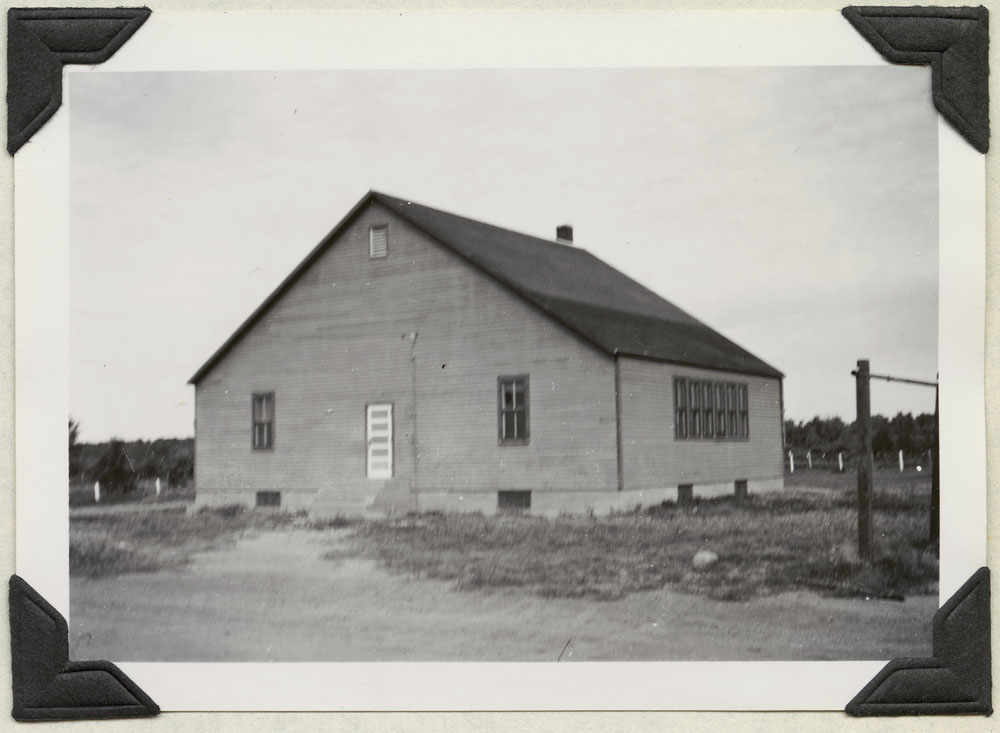 File Hills Indian Residential School, exterior view of classroom, Balcarres, August 19, 1948