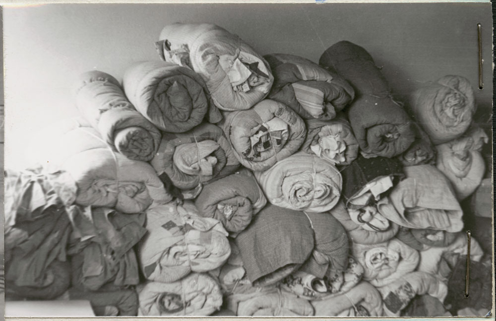 Prince Albert Indian Residential School, bedding, Lac La Ronge, 1948
