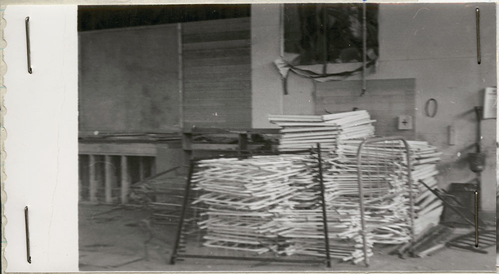 Prince Albert Indian Residential School, bed frames, Lac La Ronge, 1948