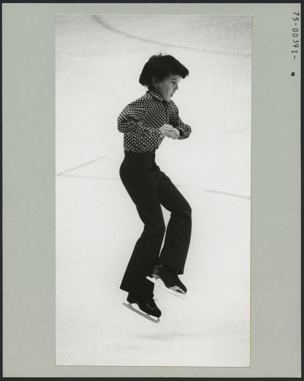 Brian Orser of Ontario, winner of the men's B single competition in figure skating at the 3rd Canadian Winter Games at Lethbridge, Alberta