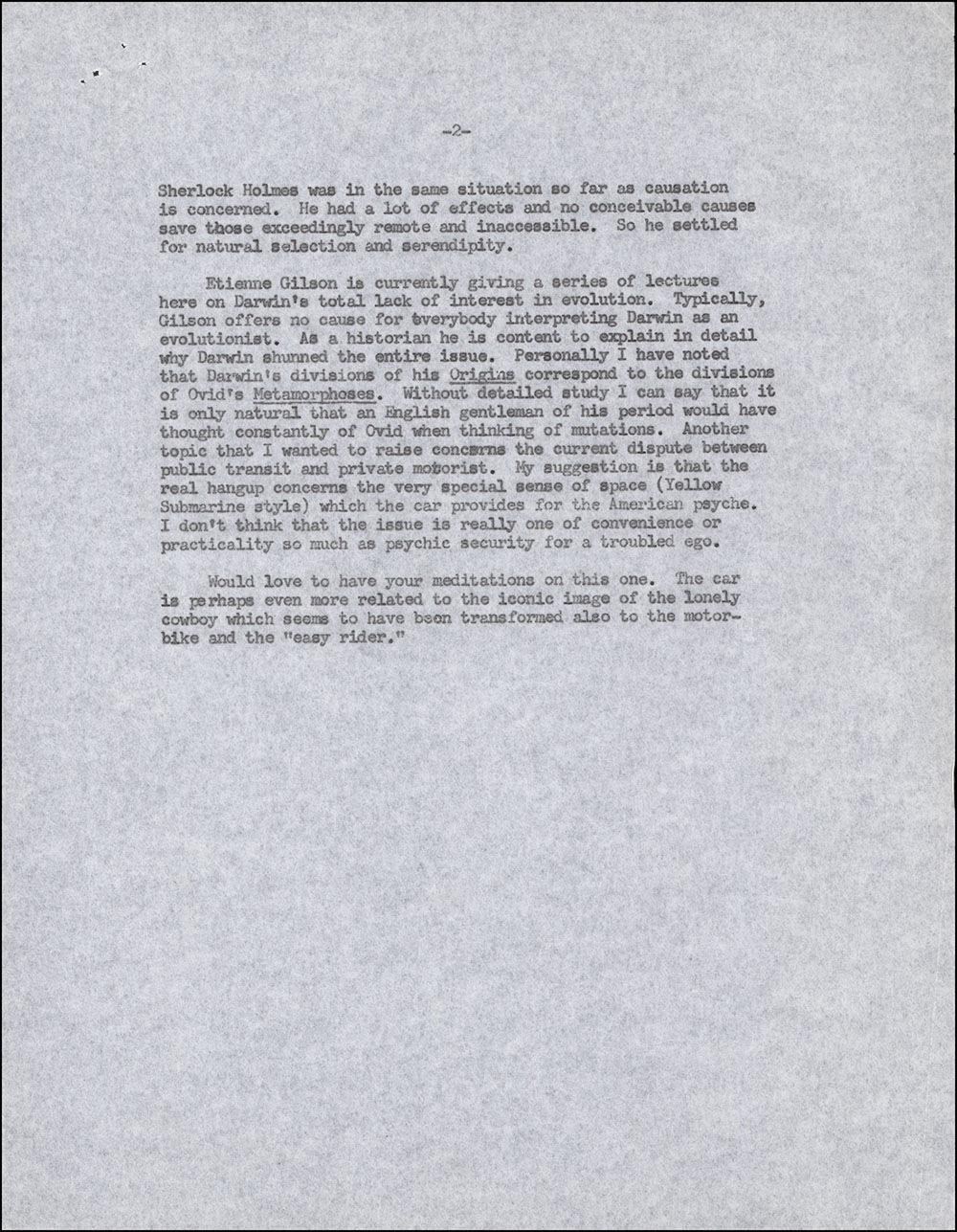 Letter dated January 21, 1971 to Edward Hall (page 2)