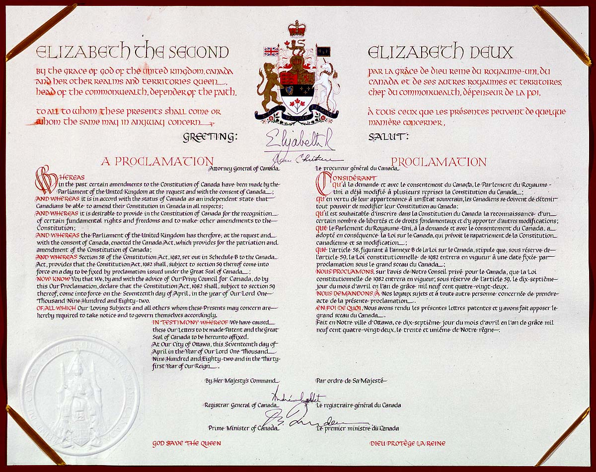 Canadian Charter of Freedoms and Rights