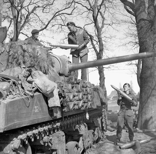 British Columbia Regiment, 1944